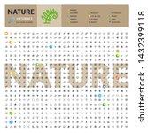 great big thematic bundle of... | Shutterstock .eps vector #1432399118