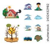 vector illustration of natural... | Shutterstock .eps vector #1432432982