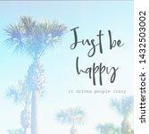 inspirational typographic quote ... | Shutterstock . vector #1432503002