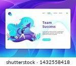 team success illustration  the...