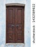 Closed Double Leaf Vintage Door....