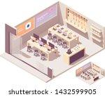 vector isometric electronics... | Shutterstock .eps vector #1432599905