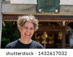 portrait of a man in his... | Shutterstock . vector #1432617032