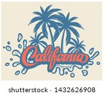 illustration with calligraphic... | Shutterstock .eps vector #1432626908