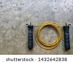 speed jump rope  cable rope ...   Shutterstock . vector #1432642838