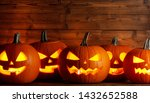 Glowing Halloween Pumpkins Head ...
