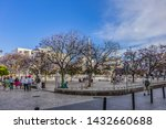 malaga  spain   june 2  2018 ...   Shutterstock . vector #1432660688