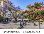 malaga  spain   june 2  2018 ...   Shutterstock . vector #1432660715