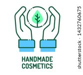 handmade cosmetics color line...