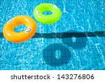 Two Swimming Pool Rings With...