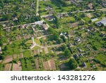 aerial view over the town | Shutterstock . vector #143281276