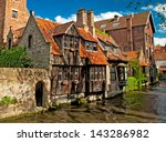 Houses Along The Canals Of...