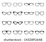 glasses icon set  eyeglasses...   Shutterstock .eps vector #1432892648