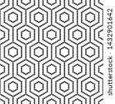 vector seamless texture. modern ... | Shutterstock .eps vector #1432901642
