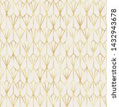 art deco seamless pattern  ... | Shutterstock . vector #1432943678