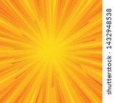 comic pop art background... | Shutterstock .eps vector #1432948538