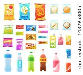 product for vending. tasty... | Shutterstock .eps vector #1432953005