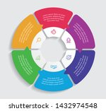 infographic design vector and... | Shutterstock .eps vector #1432974548