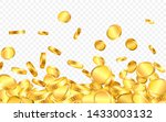 falling from the top a lot of... | Shutterstock .eps vector #1433003132
