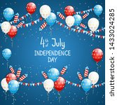 independence day theme.... | Shutterstock .eps vector #1433024285