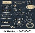 typography  calligraphic design ...   Shutterstock .eps vector #143305432