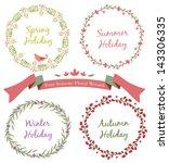 Four Seasons Floral Wreath