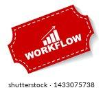 red vector illustration banner... | Shutterstock .eps vector #1433075738