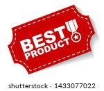 red vector illustration banner... | Shutterstock .eps vector #1433077022