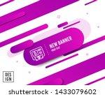 bitcoin atm line icon.... | Shutterstock .eps vector #1433079602