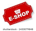 red vector illustration banner... | Shutterstock .eps vector #1433079848