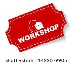 red vector illustration banner... | Shutterstock .eps vector #1433079905