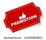red vector illustration banner... | Shutterstock .eps vector #1433080832