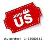 red vector illustration banner... | Shutterstock .eps vector #1433080862