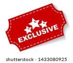 red vector illustration banner... | Shutterstock .eps vector #1433080925