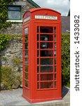a well kept british telephone... | Shutterstock . vector #1433082
