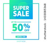 sale promotion banners for... | Shutterstock .eps vector #1433085368
