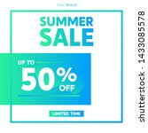 sale promotion banners for... | Shutterstock .eps vector #1433085578