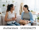 young best female friend visit... | Shutterstock . vector #1433106275