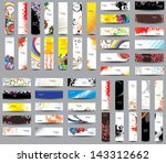 mix collection vertical and... | Shutterstock .eps vector #143312662