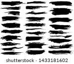 set different grunge brush...   Shutterstock .eps vector #1433181602