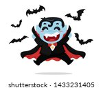 cute cartoon boy wearing...   Shutterstock .eps vector #1433231405