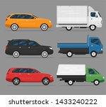 set of colorful passenger car...   Shutterstock .eps vector #1433240222