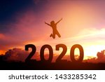 2020 Newyear Silhouette Young...