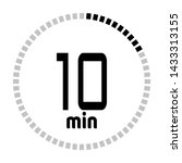 the 10 minutes countdown timer...