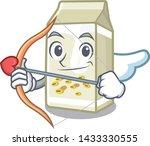 cupid soy milk in a cartoon box | Shutterstock .eps vector #1433330555