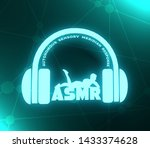 acronym asmr   autonomous... | Shutterstock . vector #1433374628