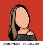 caricature of portraits ...   Shutterstock .eps vector #1433389385