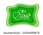 organic food and supplies... | Shutterstock .eps vector #1433400875