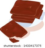 traditional chinese roasted... | Shutterstock .eps vector #1433417375
