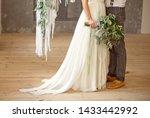 slightly disheveled fresh and...   Shutterstock . vector #1433442992